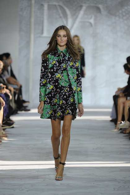 dvf green jacket