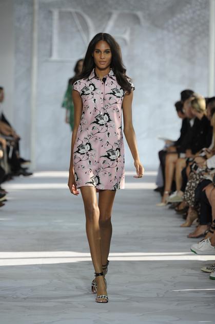 dvf pink dress