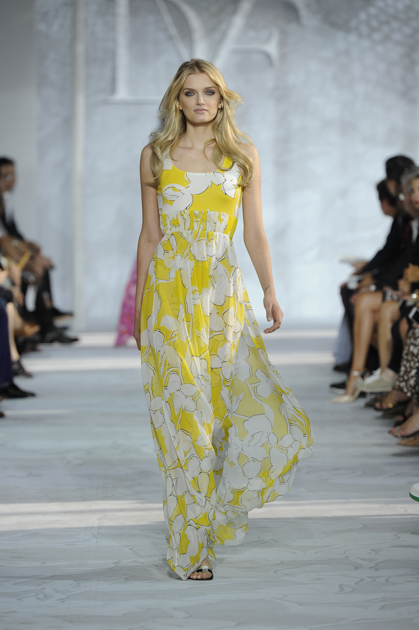 dvf yellow