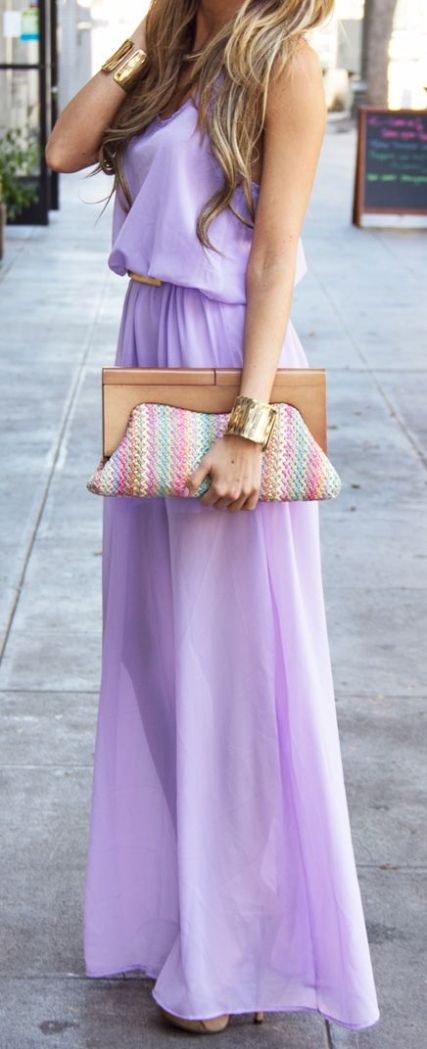 lavender maxi easter