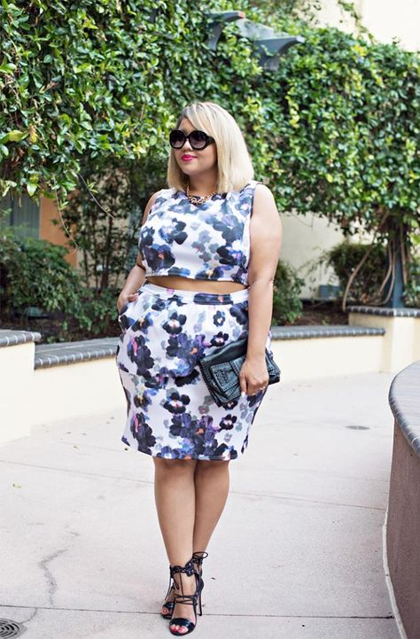 blue floral ps co ord