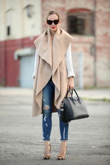 cape vest