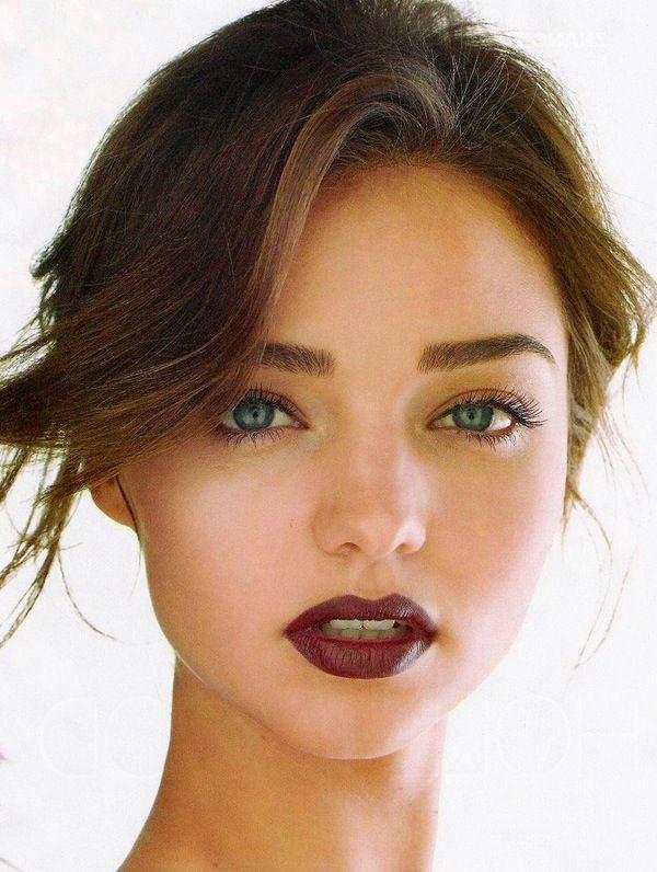 fall makeup vamp lip