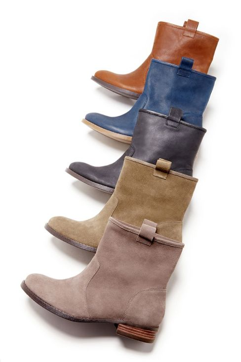 loose ankle bootie