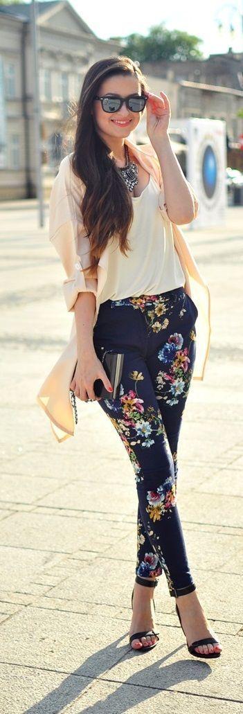 floral pant