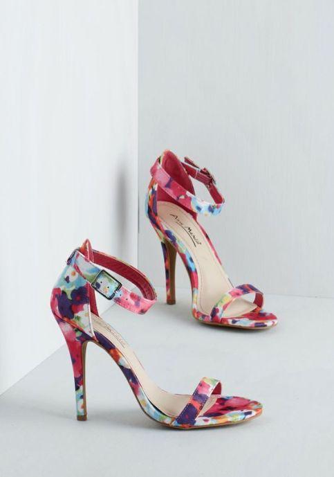 floral stiletto